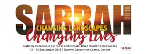 2018 SARRAH Conference