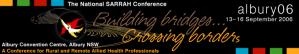 2006 SARRAH Conference