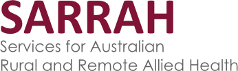 Services for Australian Rural and Remote Allied Health logo